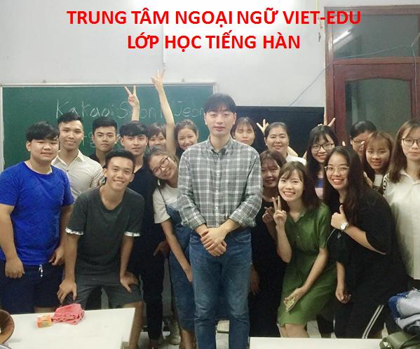Học Tiếng Hàn miễn phí tại Ngoại Ngữ Viet-Edu