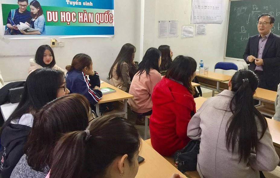 Khoá học tiếng Hàn